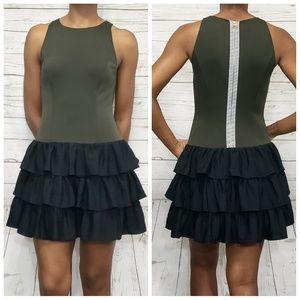 Rachel Roy Sleeveless Ruffle Dress
